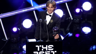 LUKA MODRIC THANKS ALL AFTER BEING NAMED 2018 BEST FIFA MEN'S PLAYER