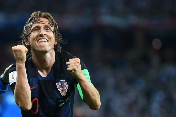 FIFA'S THE BEST FAVOURITE, MODRIC VOWS TO END RONALDO-MESSI ERA AS WORLD'S BEST