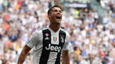 AT LAST! RONALDO FINDS THE NET FOR JUVENTUS