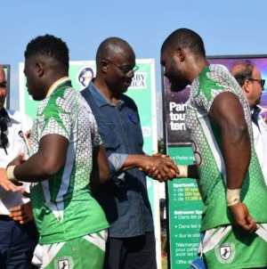 NIGERIAN RUGBY PLAYERS INDUCTED INTO SEVENS NATIONAL TEAM