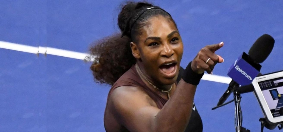 UMPIRES CONSIDERING BOYCOTT OF SERENA WILLIAMS' MATCHES
