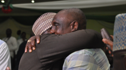 KEEN SPORTSMAN EXRAORDINAIRE, OGUNJOBI CONGRATULATES PINNICK, OTHER NFF MEMBERS