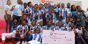 RIVERS STATE SPORTS COMMISSIONER, BOMA IYAYE CONGRATULATES RIVERS ANGELS
