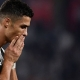 RONALDO FACES POSSIBLE CHAMPIONS LEAGUE Q'FINAL BAN FOR OBSCENE GUESTURE