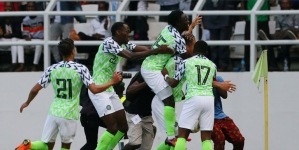 SUPER EAGLES UPBEAT AS FOOTBALL FEAST BEGINS IN ASABA ON FRIDAY