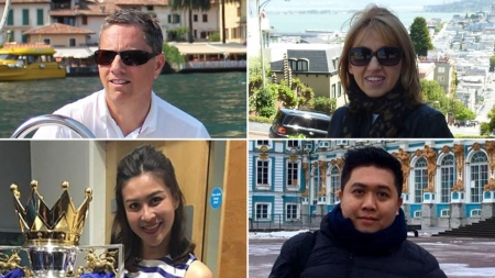 LEICESTER HELICOPTER CRASH: VICTIMS INCLUDE THAI BEAUTY QUEEN AND CO-PILOT'S GIRLFRIEND