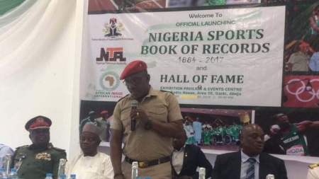 SPORTS MINISTRY UNVEILS NIGERIA SPORTS BOOK OF RECORDS