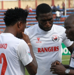 ALGERIAN CHALLENGE DOES NOT SCARE US, SAYS RANGERS' GBENGA OGUNBOTE