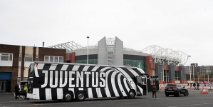 JUVENTUS MAKE INTIMIDATING PRESENCE AT OLD TRAFFORD