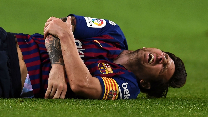 LIONEL MESSI OUT OF EL CLASICO!