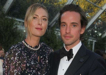 TENNIS GREAT, MARIA SHARAPOVA DATING PRINCE WILLIAM AND PRINCE HARRY'S MILLIONAIRE FRIEND!