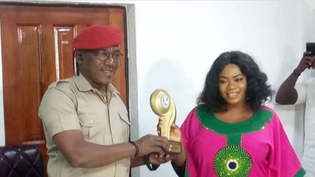 NIGERIA'S SPORTS MINISTER, DALUNG BAGS INDEPENDENCE HERO'S AWARD