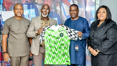 PEAK MILK CONSOLIDATES WITH NIGERIA FOOTBALL FEDERATION