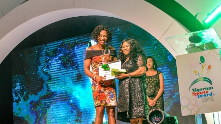 D'TIGRESS CAPTAIN, EVELYN AKHATOR THRILLED WITH NIGERIA SPORTS AWARD HONOURS