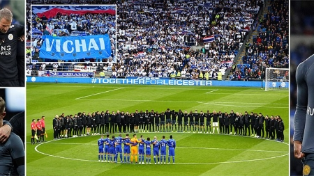 LEICESTER CITY PAY FAREWELL TRIBUTE TO TRAGIC OWNER, SRIVADDHANAPRABHA