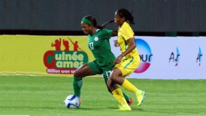 SOUTH AFRICA SHOCKS NIGERIA IN AFRICA WOMEN'S CUP OF NATIONS