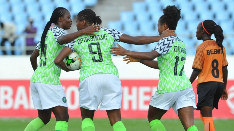 NIGERIA ON A MARATHON SCORELESS RUN IN WOMEN'S WORLD CUP