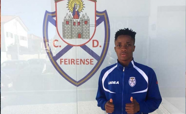 REMO STARS TRANSFER HOME BOY, ONIJE KENNETH CHISOM, TO FOREIGN AFFILIATE, PORTUGAL'S, CD FEIRENSE