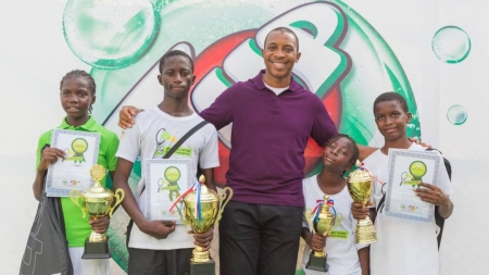 WINNERS EMERGE FROM IKOYI CLUB/SEVEN-UP SECONDARY SCHOOL LAWN TENNIS COMPETITION