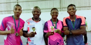 NIGERIA ALL THE WAY AT THE ZAMBIA INTERNATIONAL BADMINTON CHAMPIONSHIP!