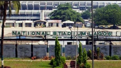 DILAPIDATED NATIONAL STADIUM, LAGOS CLOCKS 46