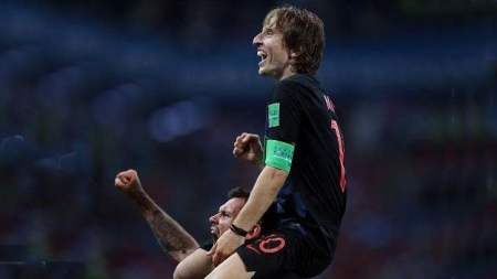 LUKA MODRIC BEATS DJOKOVIC TO WIN BALKAN ATHLETE OF YEAR