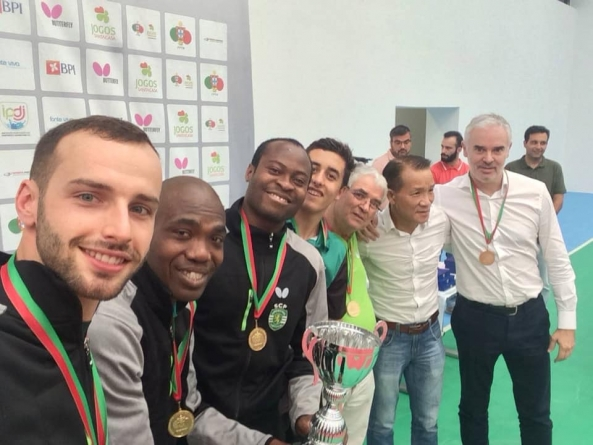 QUADRI, ABIODUN RETAIN PORTUGUESE CUP IN TABLE TENNIS