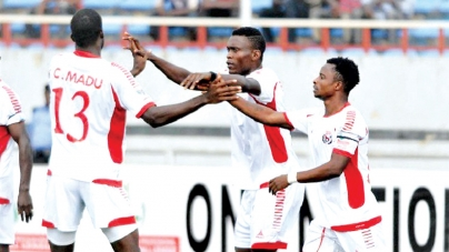 RANGERS BATTER BANTU AT HOME
