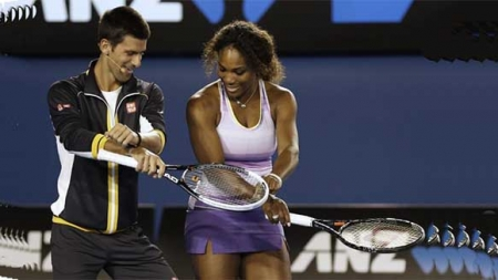 DJOKOVIC AND SERENA WILLIAMS AMONG FAVOURITES FOR AUSTRALIAN OPEN TITLES