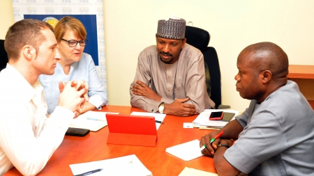 NFF, NIKE MEET TO STRATEGIZE FOR NEW YEAR