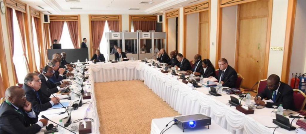 OPERATION SWEEP LOOMS IN CAF EXECUTIVE COMMITTEE
