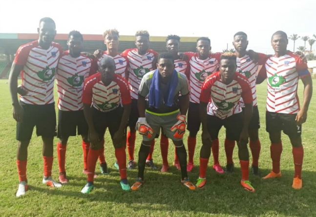 LOBI STARS TAKE TEMPORARY LEAD OF CAF CHAMPIONS LEAGUE GROUP A