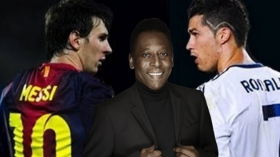 MESSI, RONALDO GO AFTER PELE'S RECORD