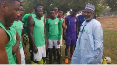 U20 AFCON: NFF GENERAL SECRETARY, SANUSI CHARGES FLYING EAGLES ON DISCIPLINE