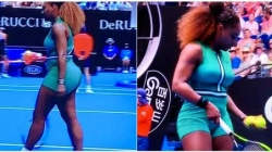 SERENA WILLIAMS IS OUT WITH ANOTHER SEXY TENNIS OUTFIT