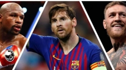 MESSI, MAYWEATHER, MCGREGOR TOP HIGHEST EARNERS IN SPORTS