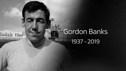 GORDON BANKS, ENGLAND'S WORLD CUP HERO DIES
