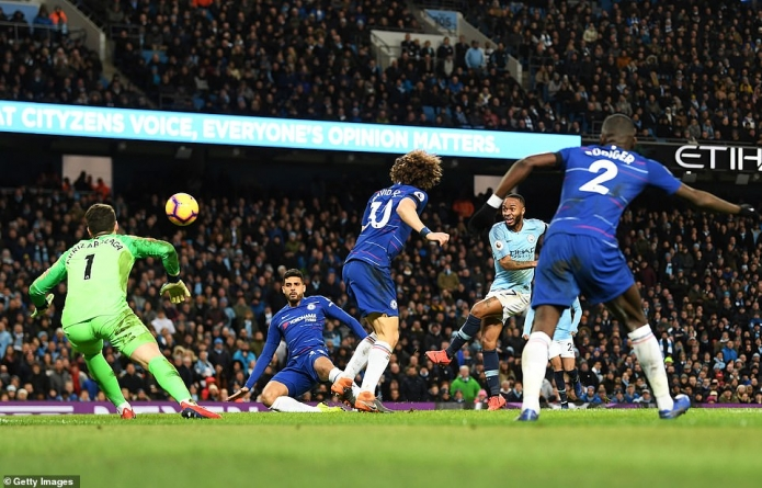 MAN CITY INFLICTS HUMILIATING DEFEAT ON CHELSEA