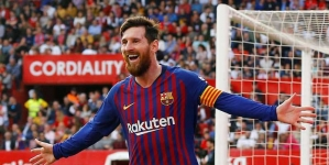 MESSI WILL BE CAGED, SAYS UTD'S MANAGER, OLE GUNNAR SOLSJAER