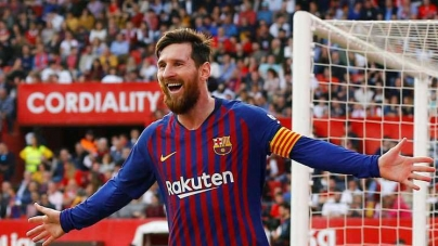 THREE IN A ROW AS LIONEL MESSI WINS GOLDEN SHOE AS TOP SCORER IN EUROPEAN LEAGUES