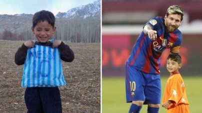 MESSI HAS RUINED OUR LIVES, CRIES AFGHAN BOY'S MUM
