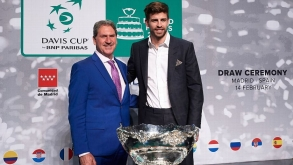 PIQUE HITS OUT AT CRITICS OF THE WORLD CUP-STYLED DAVIS CUP