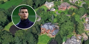 RONALDO PUTS   £3.25M PRICE TAG ON MANCHESTER MANSION