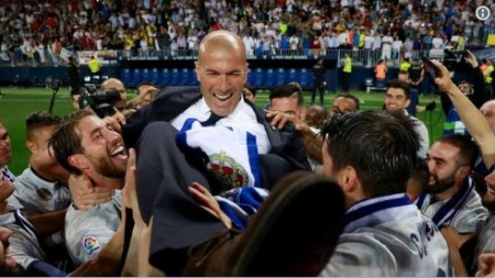 WHY I SIGNED AGAIN FOR REAL MADRID – ZIDANE