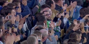 MESSI HAILED BY REAL BETIS FANS FOR HIS HAT TRICK