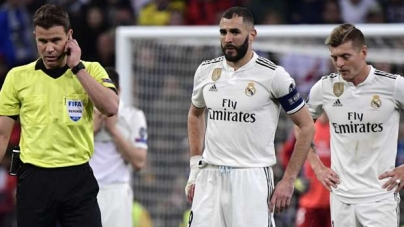 FROM BAD TO WORSE FOR REAL MADRID; GETS 'O TO GE' TREATMENT ON HOME SOIL