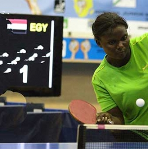 AJOKE OJOMU DEBUTS FOR NIGERIA AT BUDAPEST TABLE TENNIS TOURNEY