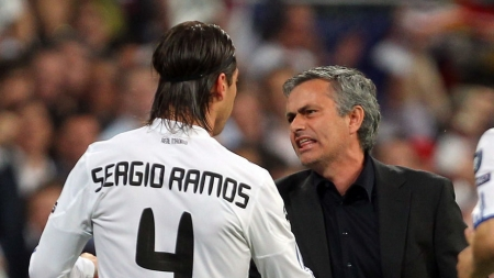 PLAYERS' MUTINY LOOMS AT MADRID IF MOURINHO STEPS IN