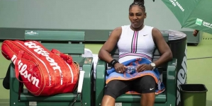 SERENA WILLIAMS RETIRES AT INDIAN WELLS