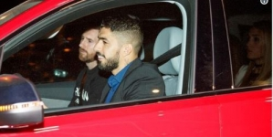 SUAREZ 'S WIFE FURIOUS AFTER MESSI DISPLACED HER IN HUSBAND'S CAR